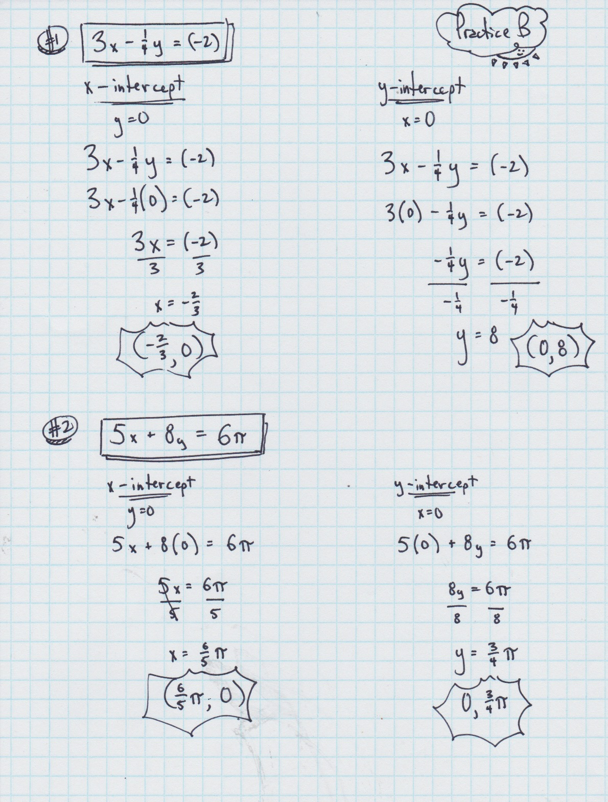 Yesterdays Work Unit 3 Linear Functions Have a Problem Use – Linear Functions Worksheets